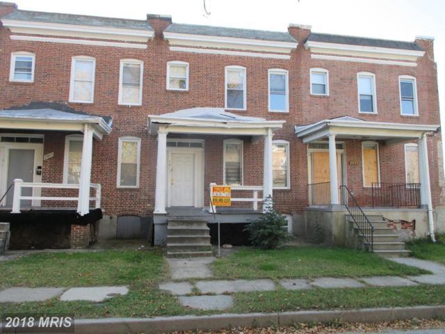 2815 Waldorf Avenue, Baltimore, MD 21215 (#BA10137879) :: Pearson Smith Realty