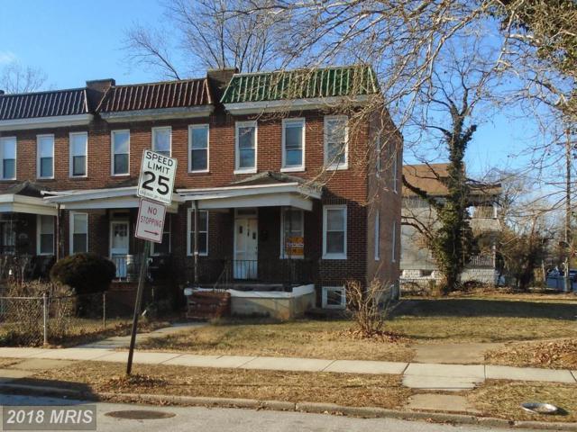 3602 Hayward Avenue, Baltimore, MD 21215 (#BA10138062) :: Pearson Smith Realty