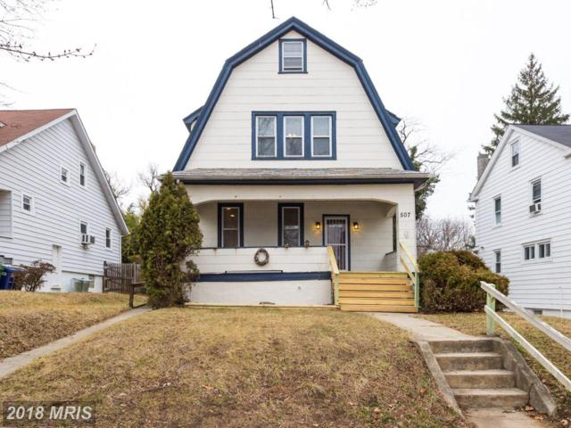 507 Rock Glen Road, Baltimore, MD 21229 (#BA10143678) :: The Gus Anthony Team