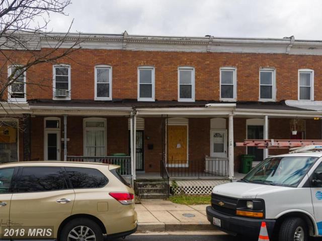 929 Montpelier Street, Baltimore, MD 21218 (#BA10155977) :: The Gus Anthony Team