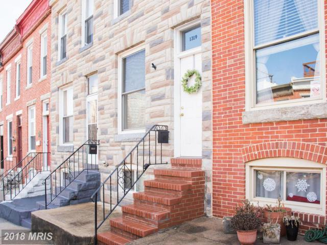 1319 Webster Street, Baltimore, MD 21230 (#BA10160896) :: The Bob & Ronna Group