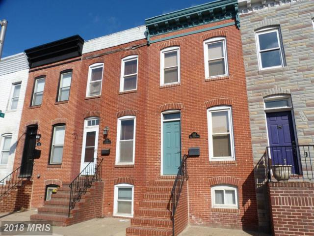 540 Fort Avenue, Baltimore, MD 21230 (#BA10161015) :: The Bob & Ronna Group