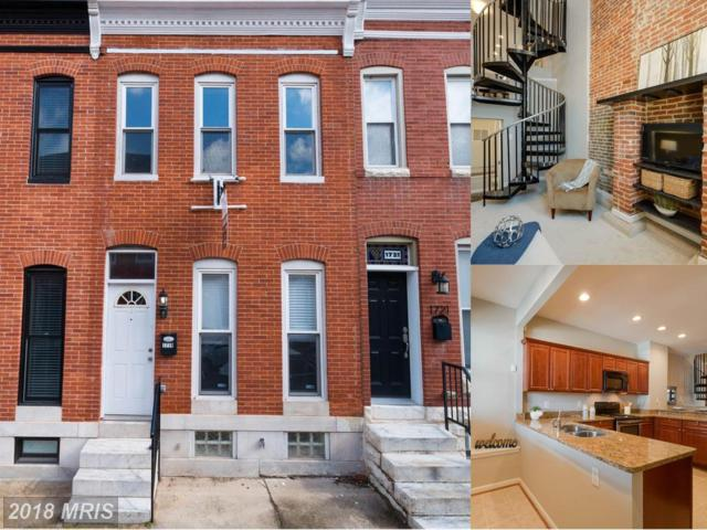 1719 Clarkson Street, Baltimore, MD 21230 (#BA10161532) :: The Bob & Ronna Group