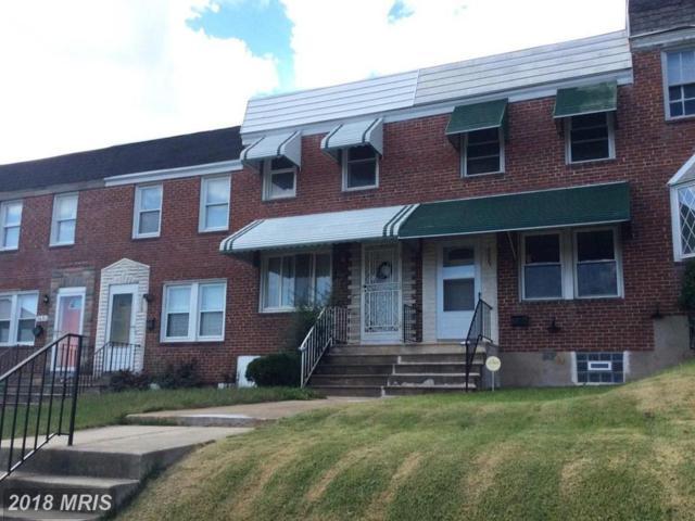 3687 Kenyon Avenue, Baltimore, MD 21213 (#BA10163397) :: Network Realty Group