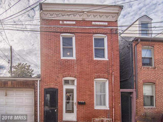 616 Chapel Street, Baltimore, MD 21231 (#BA10163732) :: The Miller Team