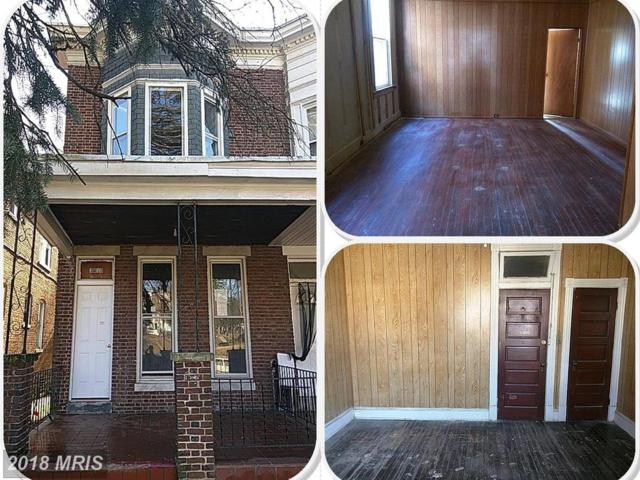 3813 Clifton Avenue, Baltimore, MD 21216 (#BA10163781) :: Wes Peters Group