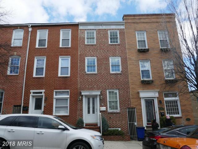 241 Wolfe Street S, Baltimore, MD 21231 (#BA10177874) :: CR of Maryland