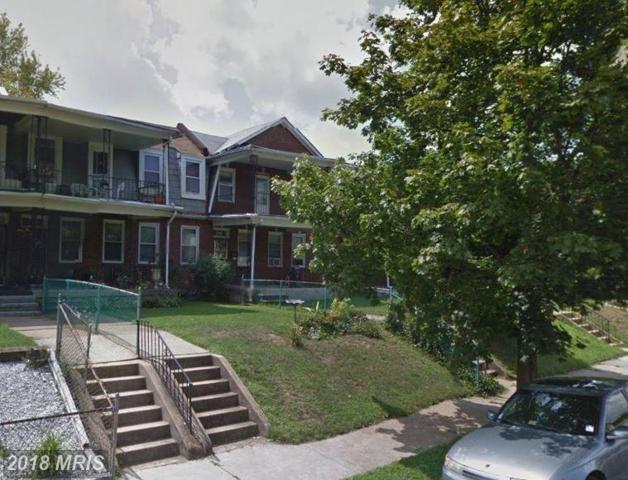 3321 Forest Park Avenue W, Baltimore, MD 21216 (#BA10186194) :: CR of Maryland
