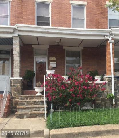 3604 Fayette Street, Baltimore, MD 21224 (#BA10189597) :: The Sebeck Team of RE/MAX Preferred