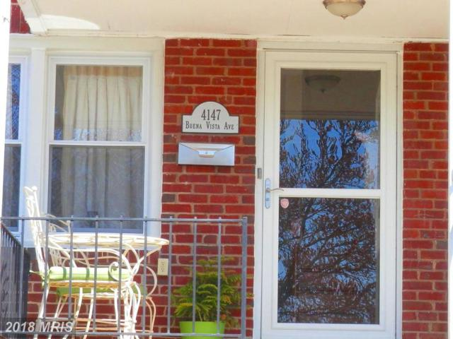 4147 Buena Vista Avenue, Baltimore, MD 21211 (#BA10195984) :: RE/MAX Executives