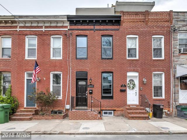 1417 Olive Street, Baltimore, MD 21230 (#BA10212207) :: The Miller Team