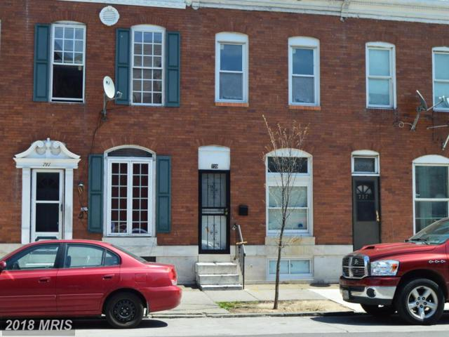 739 Milton Avenue, Baltimore, MD 21205 (#BA10212625) :: The Bob & Ronna Group