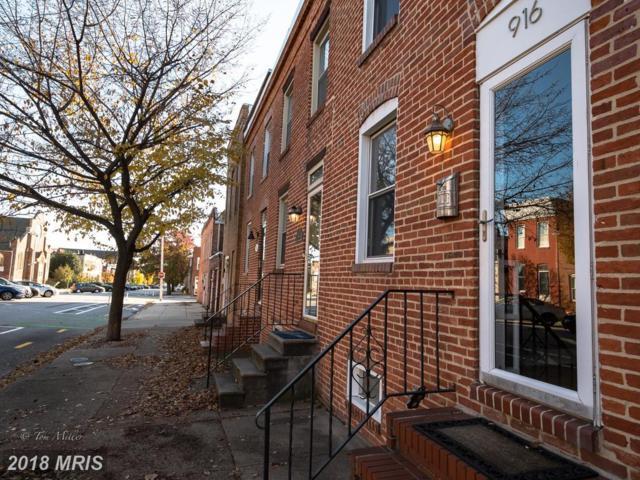 916 Potomac Street S, Baltimore, MD 21224 (#BA10215490) :: ExecuHome Realty