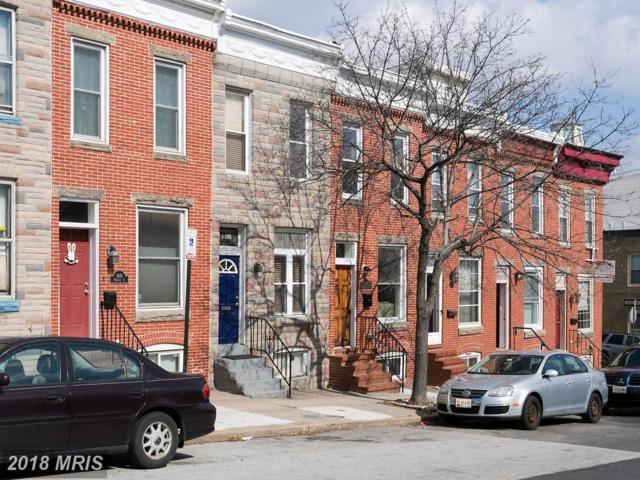 1406 Webster Street, Baltimore, MD 21230 (#BA10215865) :: The Dailey Group