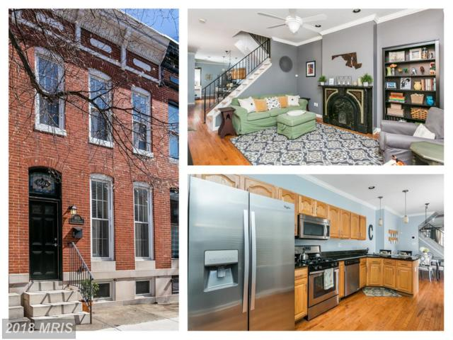 1603 Charles Street S, Baltimore, MD 21230 (#BA10221700) :: Bob Lucido Team of Keller Williams Integrity
