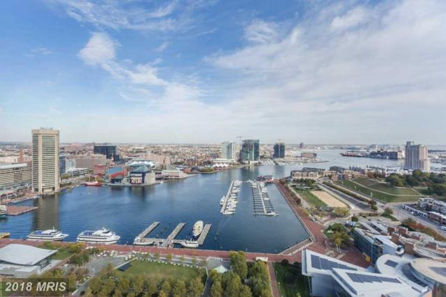 10 Lee Street E #2701, Baltimore, MD 21202 (#BA10224905) :: Dart Homes