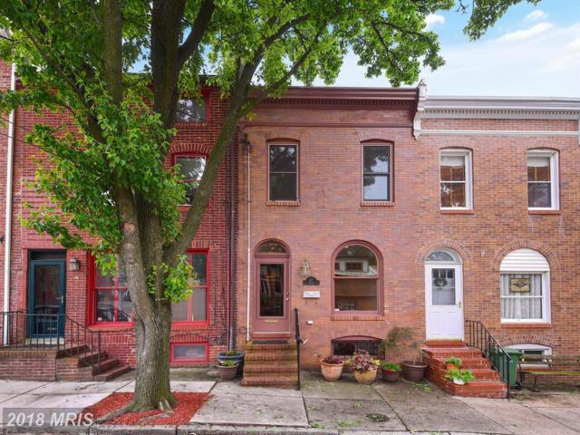 321 Hamburg Street, Baltimore, MD 21230 (#BA10235665) :: Dart Homes