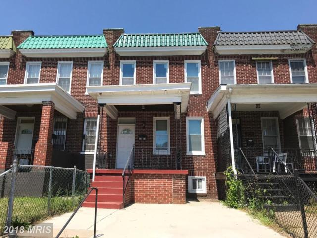 3716 Hayward Avenue, Baltimore, MD 21215 (#BA10236373) :: The Withrow Group at Long & Foster
