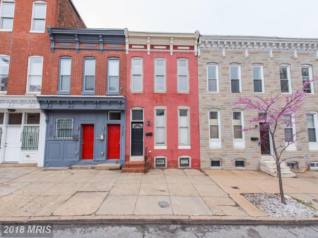2122 Fayette Street, Baltimore, MD 21231 (#BA10242494) :: SURE Sales Group