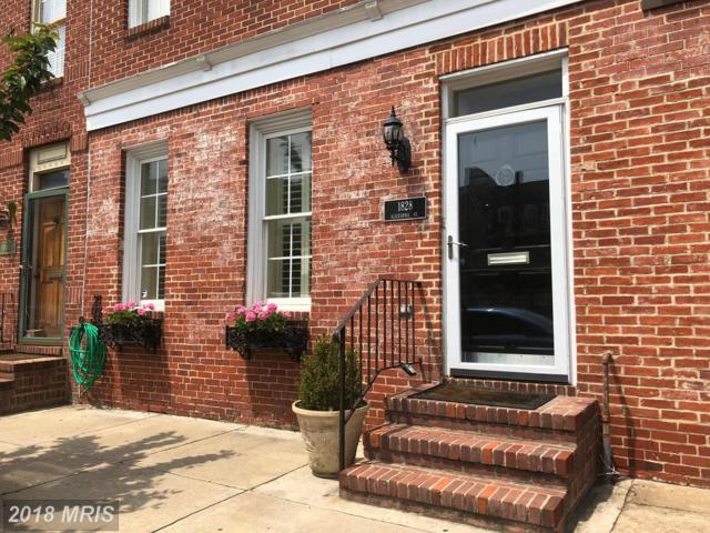 1828 Aliceanna Street, Baltimore, MD 21231 (#BA10244068) :: The Sebeck Team of RE/MAX Preferred