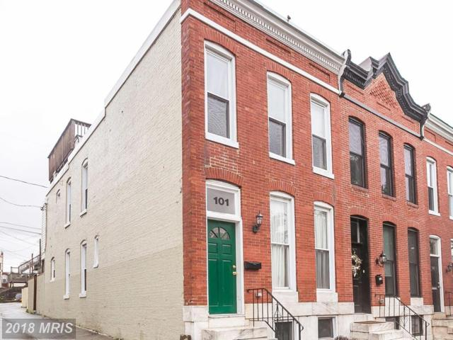 101 Ostend Street W, Baltimore, MD 21230 (#BA10245906) :: The Sebeck Team of RE/MAX Preferred