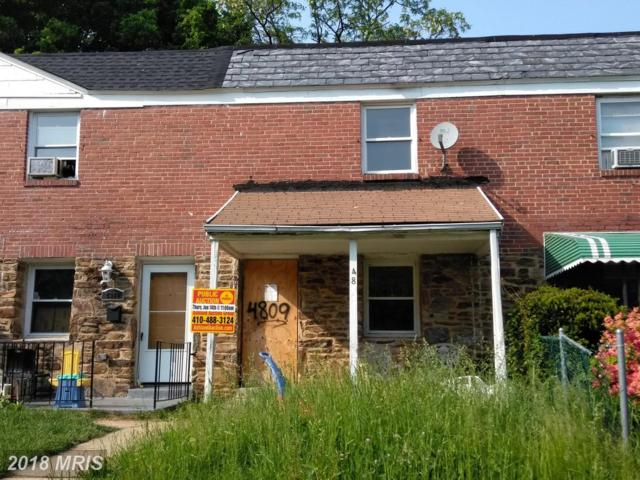 4809 Beaufort Avenue, Baltimore, MD 21215 (#BA10247940) :: The MD Home Team