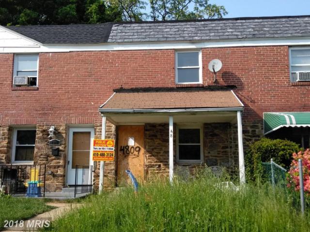 4809 Beaufort Avenue, Baltimore, MD 21215 (#BA10247940) :: Berkshire Hathaway HomeServices