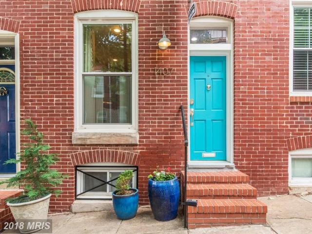1407 Belt Street, Baltimore, MD 21230 (#BA10249954) :: The Dailey Group