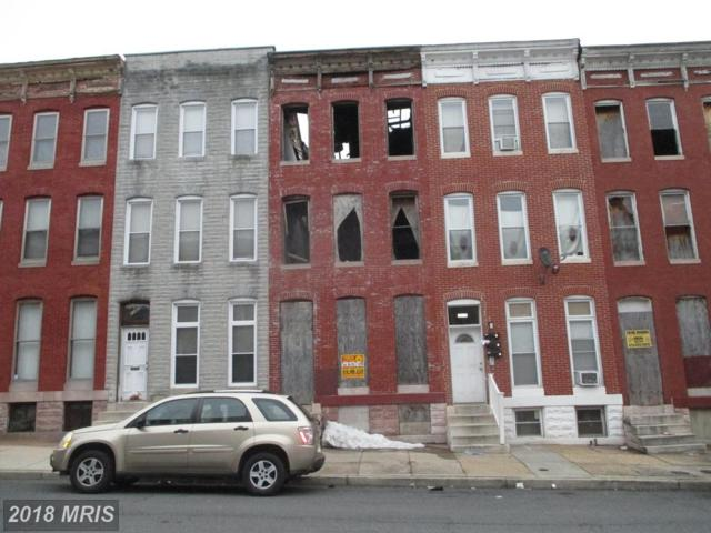 1143 Carey Street, Baltimore, MD 21217 (#BA10250526) :: ExecuHome Realty