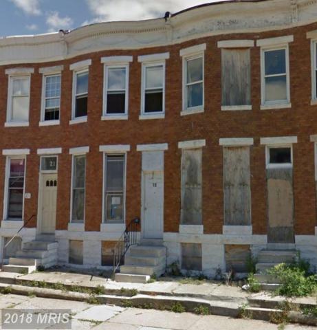 19 Bentalou Street N, Baltimore, MD 21223 (#BA10250613) :: ExecuHome Realty