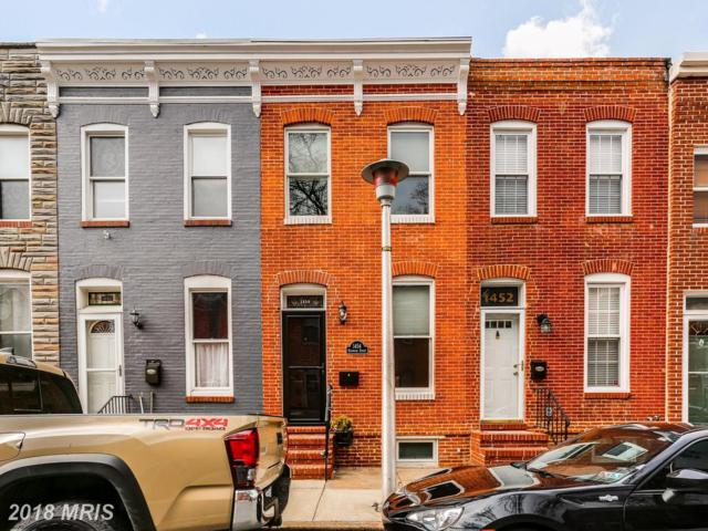 1454 Reynolds Street, Baltimore, MD 21230 (#BA10251118) :: The Dailey Group