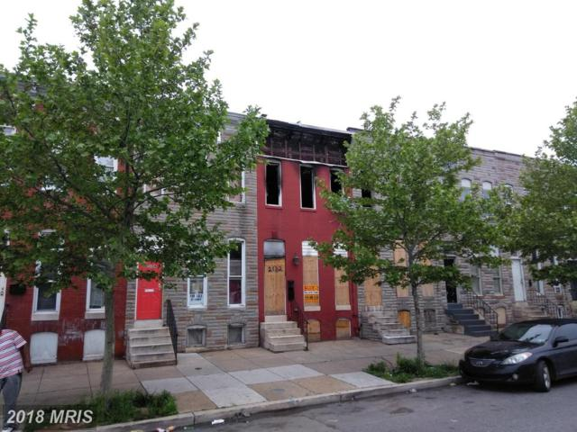 2132 Wilkens Avenue, Baltimore, MD 21223 (#BA10252878) :: The Dailey Group