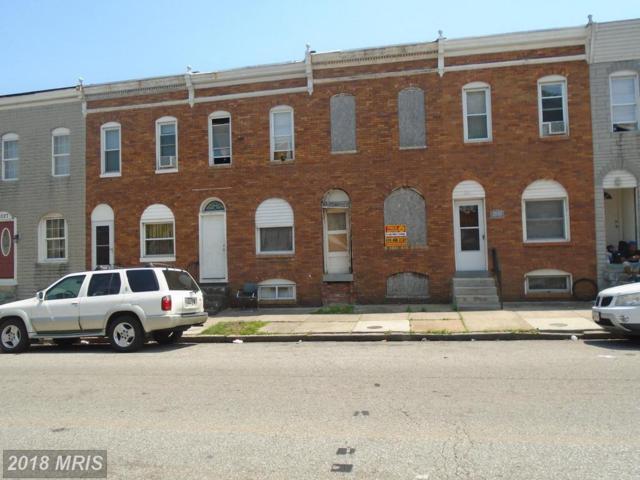 2033 Eagle Street, Baltimore, MD 21223 (#BA10284532) :: SURE Sales Group