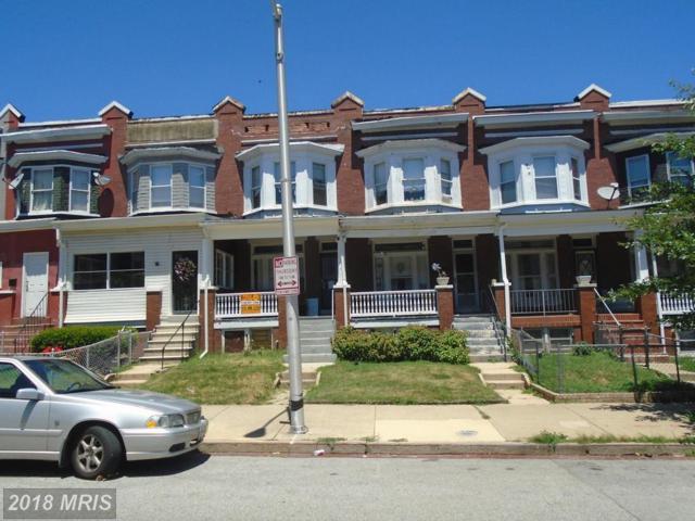 2912 Winchester Street, Baltimore, MD 21216 (#BA10294549) :: Keller Williams Pat Hiban Real Estate Group