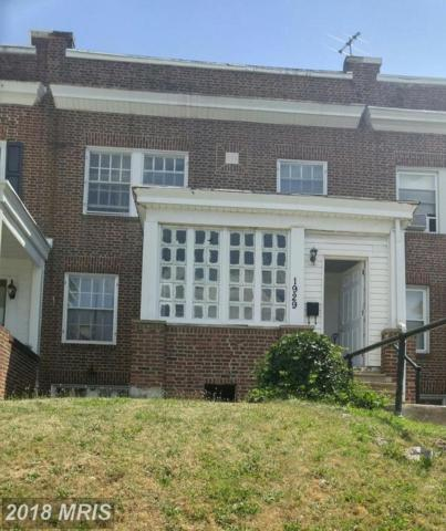 1929 32ND Street, Baltimore, MD 21218 (#BA10297878) :: Keller Williams Pat Hiban Real Estate Group