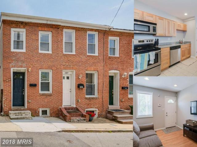 305 Castle Street S, Baltimore, MD 21231 (#BA10300047) :: The Sebeck Team of RE/MAX Preferred