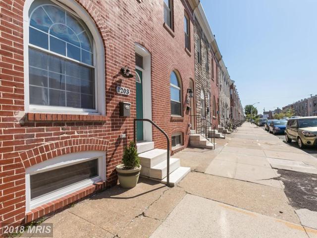 1203 Carroll Street, Baltimore, MD 21230 (#BA10300138) :: AJ Team Realty