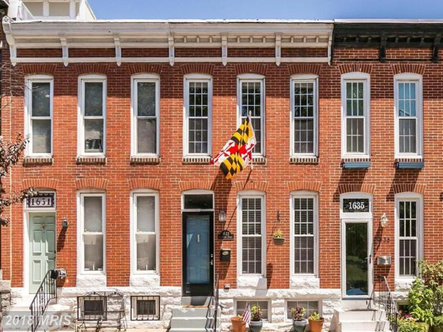 1633 Covington Street, Baltimore, MD 21230 (#BA10300178) :: RE/MAX Plus