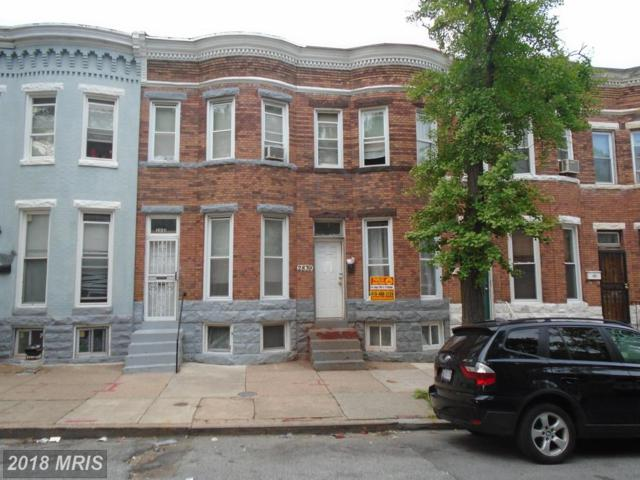 2839 Woodbrook Avenue, Baltimore, MD 21217 (#BA10301650) :: Bob Lucido Team of Keller Williams Integrity