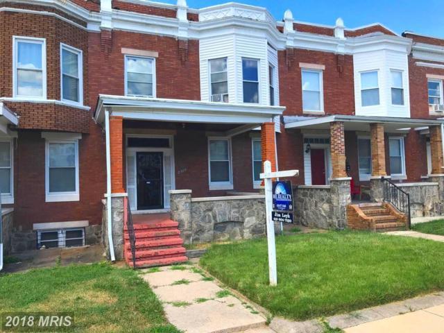 2010 31ST Street, Baltimore, MD 21218 (#BA10301776) :: RE/MAX Gateway