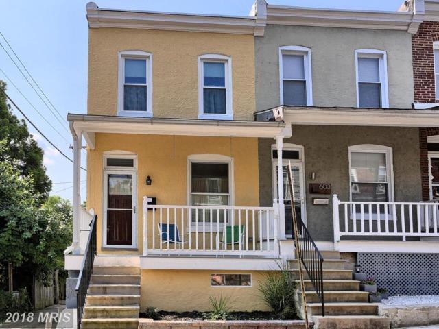601 Harding Place, Baltimore, MD 21211 (#BA10319134) :: The Dailey Group