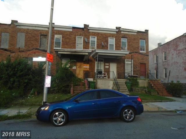 711 Longwood Street, Baltimore, MD 21216 (#BA10321167) :: Bob Lucido Team of Keller Williams Integrity