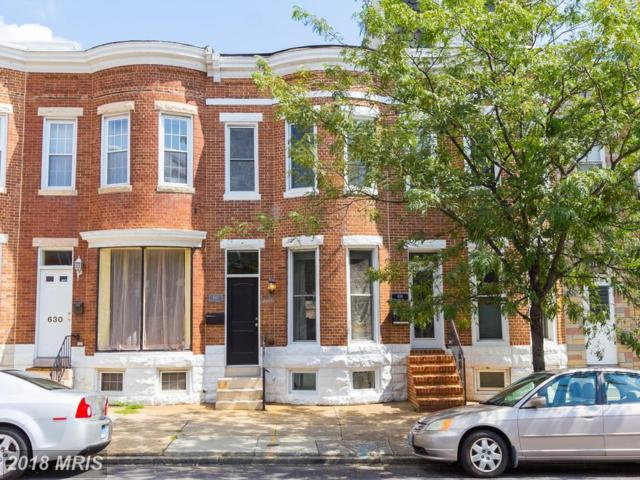632 Fort Avenue, Baltimore, MD 21230 (#BA10321620) :: The Dailey Group
