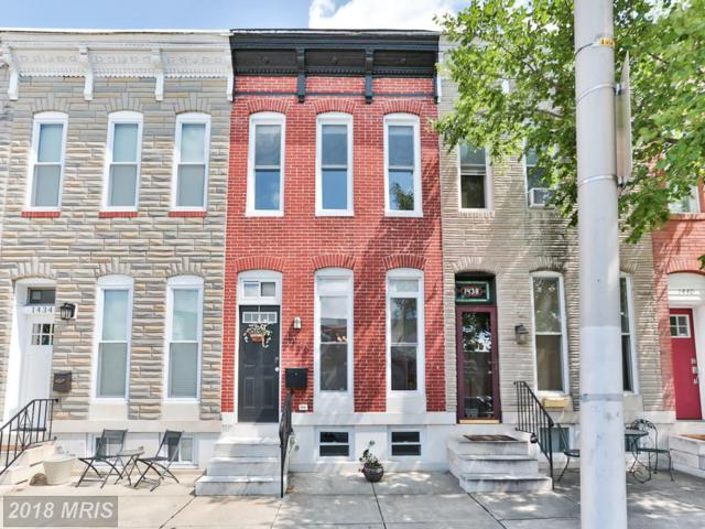 1436 Fort Avenue, Baltimore, MD 21230 (#BA10322085) :: The Dailey Group