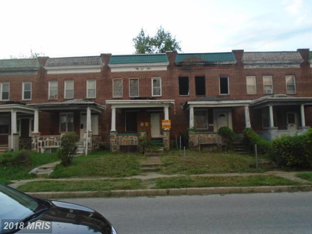 3706 Garrison Avenue, Baltimore, MD 21215 (#BA10323150) :: Berkshire Hathaway HomeServices