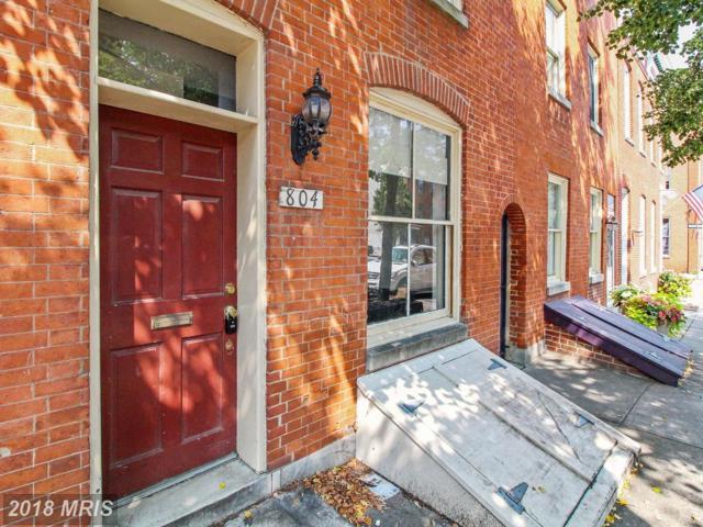 804 Bond Street, Baltimore, MD 21231 (#BA10323288) :: SURE Sales Group
