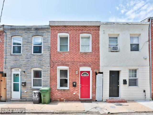 124 Chapel Street S, Baltimore, MD 21231 (#BA10323978) :: SURE Sales Group