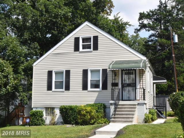 2809 Silver Hill Avenue, Baltimore, MD 21207 (#BA10331402) :: Keller Williams Pat Hiban Real Estate Group
