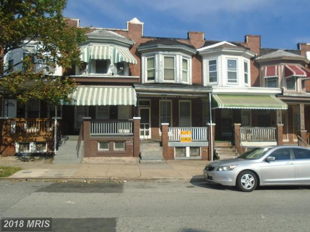1815 Smallwood Street N, Baltimore, MD 21216 (#BA10342796) :: Eric Stewart Group