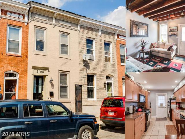 2106 Moyer Street, Baltimore, MD 21231 (#BA10351076) :: Eric Stewart Group